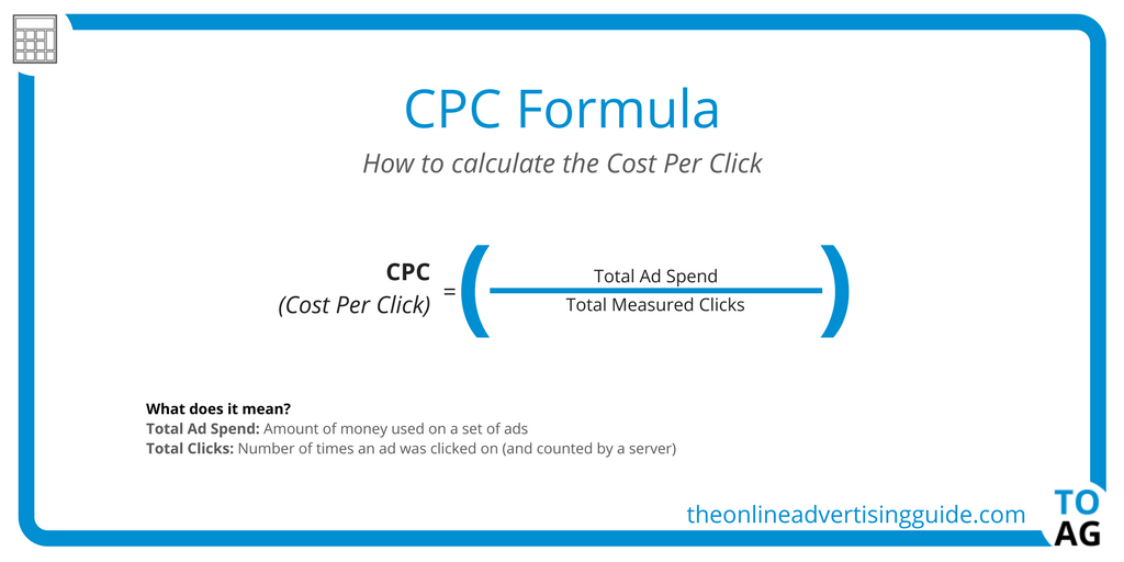 Cpc calculator cost per click the online advertising guide for Cost to build calculator free